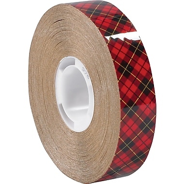 3M™ Scotch® ATG 1/2in. x 36 yds. High-Tack Adhesive Transfer Tape 976, Clear, 72/Case