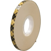 "3M™ 908 Adhesive Transfer Tape, 1/2"" x 36 yds., Clear, 72/Case"