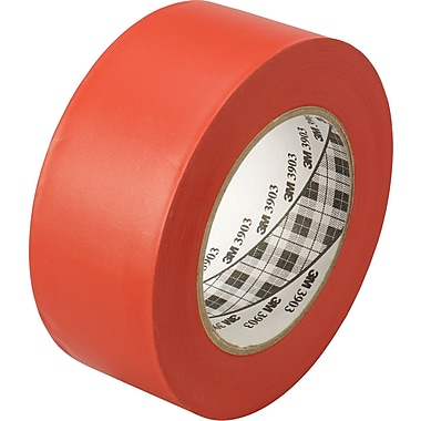 3M™ 2in. x 50 yds. Vinyl Duct Tape 3903, Red, 3/Pack