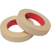 3M™ Scotch® 1/2 x 60 yds. x 6.7 mil Masking Tape 214, Tan, 6/Pack