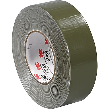 3M™ 2in. x 60 yds. Vinyl Duct Tape 3903, Olive Green, 24/Case
