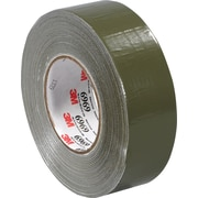 "3M™ 6969 Duct Tape, 2"" x 60 yds., Olive Green, 24/Case"
