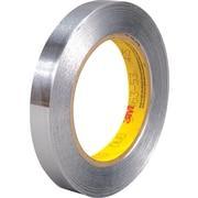 """3M™ 1/2"""" x 60 yds. Silver Aluminum Foil Tapes 425"""