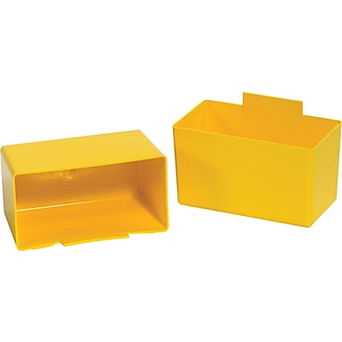 BOX 5 1/8in. x 2 3/4in. x 3in. Shelf Bin Cup, Yellow