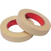3M™ Scotch® 1 x 60 yds. Masking Tape 214, 6/Pack