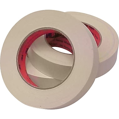 3M™ Scotch® 1in. x 60 yds. Masking Tape 213, Tan, 6 Rolls