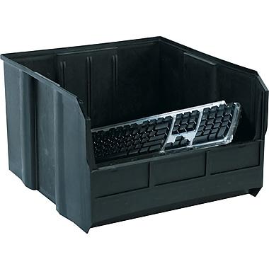 BOX 18in. x 16 1/2in. x 11in. Conductive Bin, Black