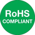Tape Logic™ RoHS Compliant Regulated Label, 1in.(Dia)