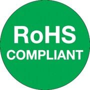 "Tape Logic™ RoHS Compliant Regulated Label, 1""(Dia)"