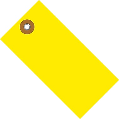 Tyvek® 2 3/4in. x 1 3/8in. Shipping Tag, Yellow, 100/Case