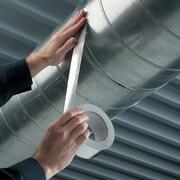 """3M™ 425 Aluminum Foil Tape, 3"""" x 60 yds., Silver, 12/Case"""