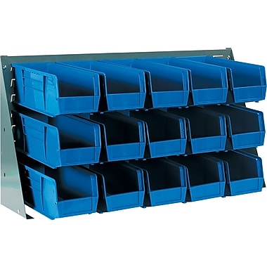 BOX Bench Rack Bin Organizer, 36in. x 19in.