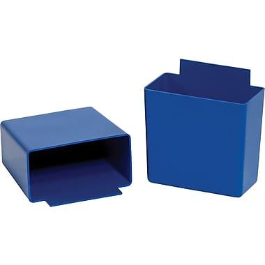 BOX 3 1/4in. x 1 3/4in. x 3in. Shelf Bin Cup, Blue