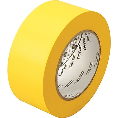 3M™ 2in. x 50 yds. Vinyl Duct Tape 3903, Yellow, 24/Case