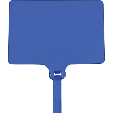 BOX 120 lbs. Identification Cable Tie, 6in.(L), Blue