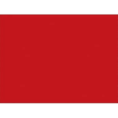 Tape Logic™ 5in. x 7in. Rectangle Inventory Label, Red, 500/Roll