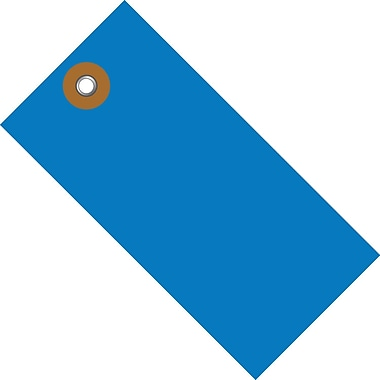 Tyvek® 4 1/4in. x 2 1/8in. Shipping Tag, Blue, 100/Case