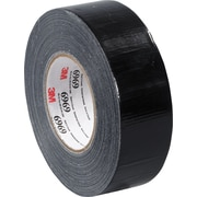 "3M™ 2"" x 60 yds. Vinyl Duct Tape 6969, Black, 24/Case"