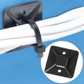 BOX Cable Tie Mount, 1 1/2in. x 1 1/2in., Black
