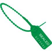 """BOX 18"""" Plastic Pull-Tight Seal, Green"""