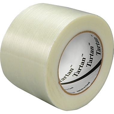 3M™ Tartan™ 3in. x 60 yds. Filament Tape 8934, 12/Case