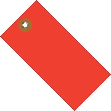 Tyvek® 5 1/4in. x 2 5/8in. Shipping Tag, Red, 100/Case