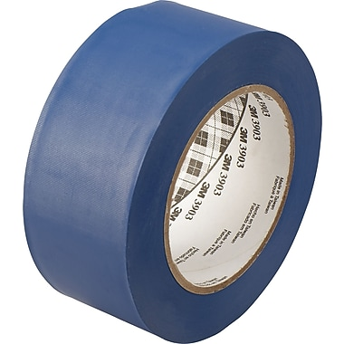 3M™ 2in. x 50 yds. Vinyl Duct Tape 3903, Blue, 24/Case