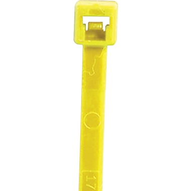 BOX 40 lbs. Cable Tie, 8in.(L), Fluorescent Yellow