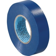Tape Logic™ 3/4(W) x 20 yds(L) Vinyl Electrical Tape, Blue, 200/Case
