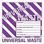 Tape Logic™ Universal Hazardous Waste Label, 6 x