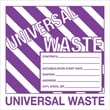 "Tape Logic™ Universal Hazardous Waste Label, 6"" x 6"""