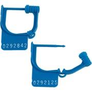 """BOX 8"""" Plastic Handilok Seals, Blue"""