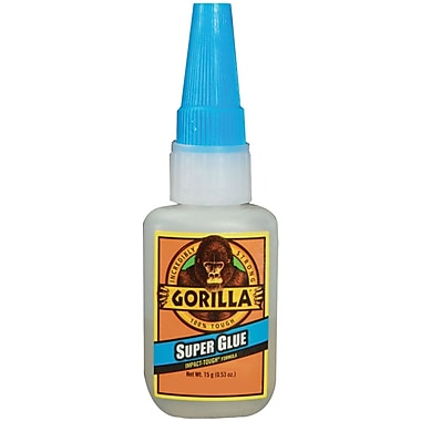 Gorilla™ Super Glue, 0.5 oz.