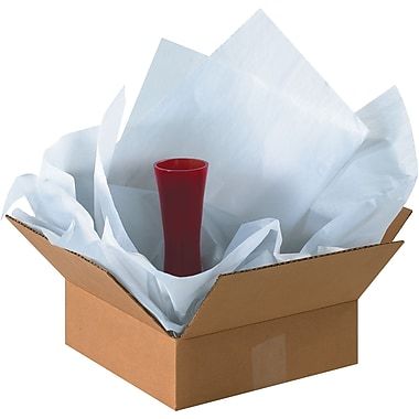 BOX 18in. x 24in. Economy Tissue Paper, White, 4800 Sheets