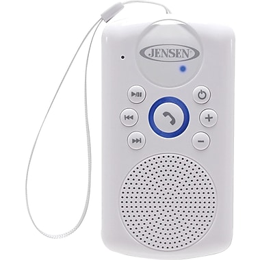 Jensen SMPS-640 Water Resistant Shower Bluetooth Handsfree Speaker