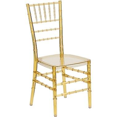 Flash Furniture 10/Pack Elegance Crystal Resin Stacking Chiavari Chairs