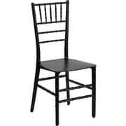Flash Furniture Elegance Black Resin Stacking Chiavari Chair, 10/Pack