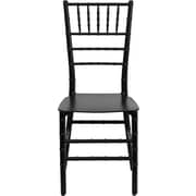 Flash Furniture Elegance Black Resin Stacking Chiavari Chair, 20/Pack