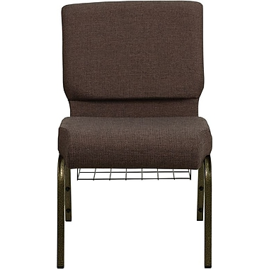 Flash Furniture HERCULES™ Fabric Church Chairs With 4