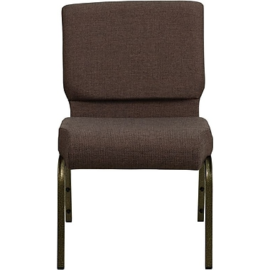Flash Furniture HERCULES™ Fabric Stacking Church Chairs With 5