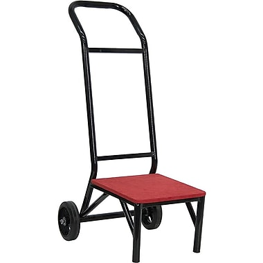 Flash Furniture FD-STK-DOLLY-GG Chair Dolly, Black/Red