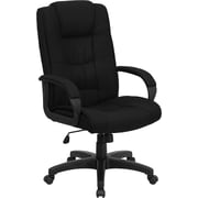 Flash Furniture High Back Fabric Executive Office Chair, Black