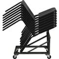 Flash Furniture HERCULES™ Polypropylene Stackable Melody Band/Music Chair, Black