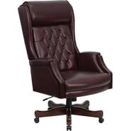 Flash Furniture KCC696TG Executive Chair, Burgundy