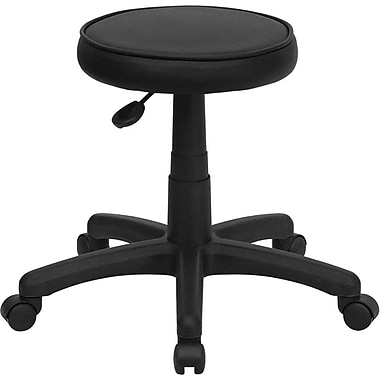 Flash Furniture 21in. Medical Ergonomic Stool, Black (KC96G)