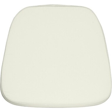 Flash Furniture Soft Fabric Chiavari Chair Cushion, Ivory