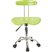 Flash Furniture Vibrant Computer Task Chair with Tractor Seat, Apple Green
