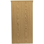 Flash Furniture Laminate Stand Up Lectern, Oak
