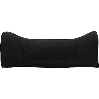 Flash Furniture Lumbar Cushion With Strap, Black