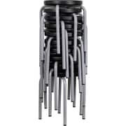 Flash Furniture YK01B Backless Stool, Black